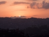 Aizawl at sunset
