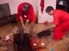 Goat sacrifice, Ambubachi Mela, Kamakhya Mandir, Guwahati