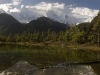 Annapurna II near Pisang Annapurna circuit trek
