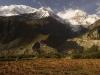 Annapurna III and Gangapurna, Manang Annapurna circuit trek.