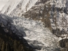 Gangapurna Glacier, Manang, Annapurna circuit trek.