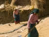 Drying rice, Bhaktapur.