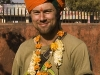 "Myself ""festivaled up"" in Bundi."
