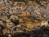 View of the old quarter in Bundi.