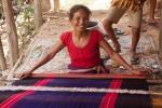 Chakma weaving, in a village near Chongte