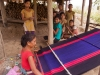 Chakma weaving,  in a village near Chongte
