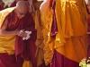 Dalai Lama leaving his teachings in Leh