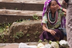 Bru Woman, Market in Damchara