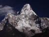Ama Dablam while hiking to Phortse