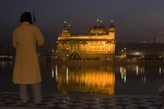 Sikh guard, Golden Temple, Amritsar.
