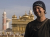 Me at the Golden Temple, Amritsar.