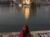Women praying at the Golden Temple, Amritsar.