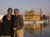 Myself, my sister, and my dad at the Golden Temple, Amritsar.