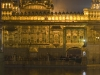 Golden Temple with the clock showing midnight on January 1st 2008, actually typical for India the clock was a little slow, Amritsar.