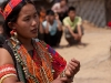 Konyak women rehearse traditional dance for TV shoot