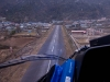 Landing in Lukla.