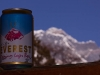 Everest Beer and Everest from my room at Maila's lodge in Deboche