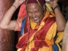 Monk preparing for Cham dance, Hemis Festival