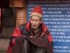 Ladakhi man, Hemis Festival.