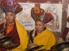 Monks playing cymbals, Hemis Festival.