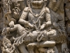 Vishnu incarnated as Narasimha (half man half lion), Hoysalewara Temple, Halebid.