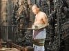 Priest in the 12th century Channekeshava Temple, Belur.