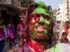 Me at Holi celebration in Hyderabad