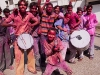 Holi celebration in Hyderabad