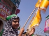 Malid un Nabi procession celebrating of the birthday of the prophet Mohammad, old city Hyderabad