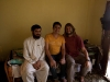 Me with two of the Afghan guys I met in Hyderabad