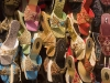 Shoes displayed on the street, Hyderabad.