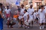 Torch relay during Yaoshang, Imphal