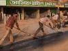Road tarring, Jessore