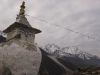 Stupa above Dingboche.