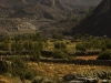 Fields and mountains outside of Jomsom.