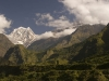 Nilgiri South (6839 m) from Tatopani.