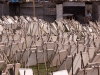 Drying canvases, Kathmandu