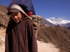 Young porter near Namche