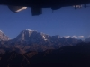 View from flight to Kathmandu from Lukla.