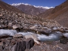 Hiking towards the Charang La