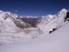 View from the 5,266 m (17,275 ft) Charang La