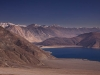 Pangong Lake, from the hill behind Spangmik