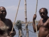 The two fisherman I was hanging out with for the longest time on the north end of Vypin Island.  Near Kodungallor.