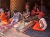Naga Sadhus in thier camp, Kumbh Mela, Haridwar