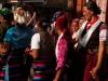 Women of Langtang dancing in Syabru Besi