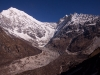 From the 5000 m hiill above Kyanjin Gompa