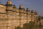 Man Singh Palace (constructed from 1486 to 1516), fort, Gwalior.
