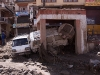 Near Leh Bus Stand after the flash flood in Leh, August 6 2010