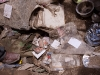 Personal items on the ground after the flash flood in Leh, August 6 2010