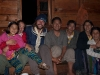 May and I with the family who's house we ate at our last night in Mechuka